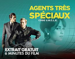 Minutes gratuites - Agents très speciaux - Code UNCLE