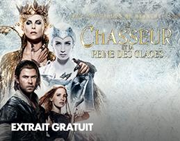 Minutes gratuites - Le Chasseur et la reine des glaces