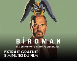 Minutes gratuites - Birdman