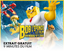 Minutes gratuites - Bob l'éponge - Le film