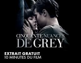 Minutes gratuites - Cinquante nuances de Grey