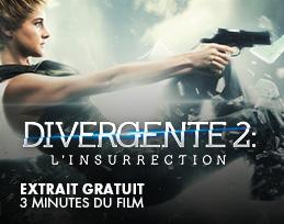 Minutes gratuites - Divergente 2 : l'insurrection
