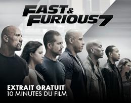 Minutes gratuites - fast et furious