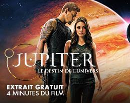 Minutes gratuites - Jupiter : le destin de l'univers