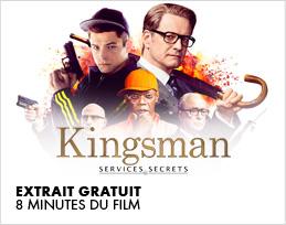 Minutes gratuites - Kingsman : Services secrets