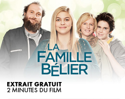 Minutes gratuites - La Famille B�lier