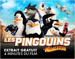 Minutes gratuites - Les Pingouins de Madagascar_2015