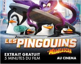 Minutes gratuites - Les Pingouins de Madagascar