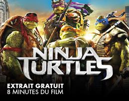 Minutes gratuites - Ninja Turtles