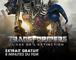 Minutes gratuites - Transformers 4